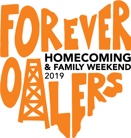 2019 Homecoming and Family Weekend Forever Oilers